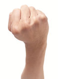 Strong fist up Stock Photos