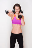 Strong and fit. Royalty Free Stock Photos