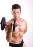 Strong fit guy Stock Photo