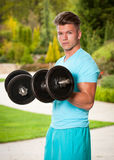 Strong and fit. Stock Photography
