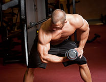Strong and fit. Stock Images