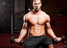 Strong and fit. Royalty Free Stock Photography