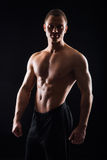 Strong, fit and sporty bodybuilder man Stock Photography