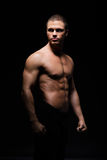 Strong, fit and sporty bodybuilder man Royalty Free Stock Photos