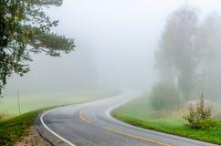 Strong fog Royalty Free Stock Photos