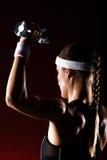 Strong girl Stock Photos