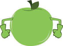 Strong Green Apple Stock Photos