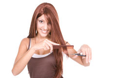 Strong hair Stock Photography