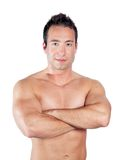 Strong handsome man Royalty Free Stock Photo