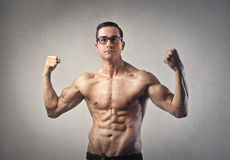 Strong handsome man Royalty Free Stock Image