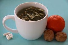 Strong health against flu stock photos