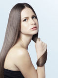 Strong healthy hair Royalty Free Stock Photography