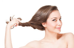 Free Strong Healthy Hair. Royalty Free Stock Images - 50598449