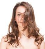 Strong healthy hair. Stock Photos