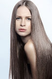 Strong healthy hair Royalty Free Stock Photos