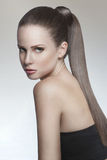 Strong healthy hair Royalty Free Stock Image