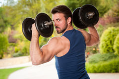 Strong and healthy. Stock Photography