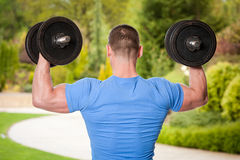 Strong and healthy. Stock Images
