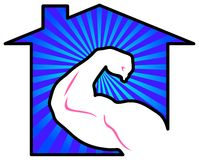 Strong home Stock Images