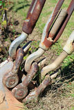Strong hook and shackle Royalty Free Stock Photos