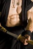 Strong human torso Stock Photo