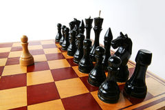 Strong individual chess Royalty Free Stock Images