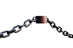 Strong iron chain Royalty Free Stock Photography