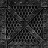 strong iron Storage box royalty free stock image