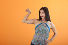 Strong Lady Royalty Free Stock Photography