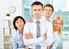 Strong leader Royalty Free Stock Images