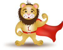 Strong lion Royalty Free Stock Photo