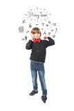 Strong little boy Stock Photography