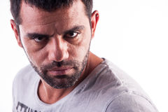 Strong looking young man Royalty Free Stock Photography
