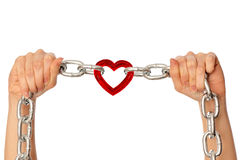 Strong love stock photography