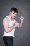 Strong man Royalty Free Stock Photography