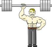 Strong man stock illustration