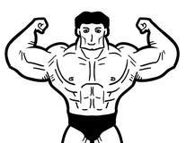 Strong man Royalty Free Stock Image