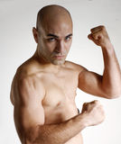 Strong man. Royalty Free Stock Photography