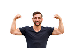 Strong man Stock Photography