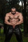 Strong Man With Samurai Sword Royalty Free Stock Photos