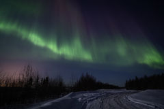 Free Strong Multicolor Display Of Northern Lights Stock Photography - 23786872