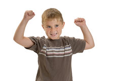 Strong Muscles Royalty Free Stock Photos