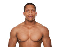 Strong muscular man Royalty Free Stock Photo
