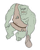 Strong ogre Royalty Free Stock Images