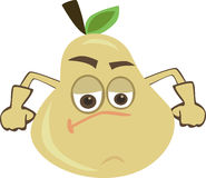 Strong Pear Stock Photo