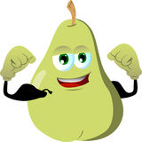 Strong pear Royalty Free Stock Photo