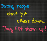 Strong people Stock Image