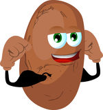 Strong potato Stock Images