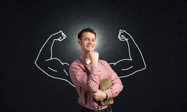 Strong and powerful Stock Image