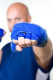 Strong punch royalty free stock photography